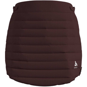 Odlo Cocoon S-Thermic Warm Rok Dames, decadent chocolate